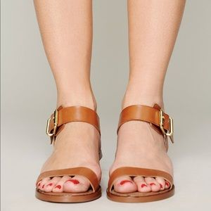 ee9b44668 Sam Edelman Shoes - Sam Edelman Trina Block Heel Sandal Saddle Leather